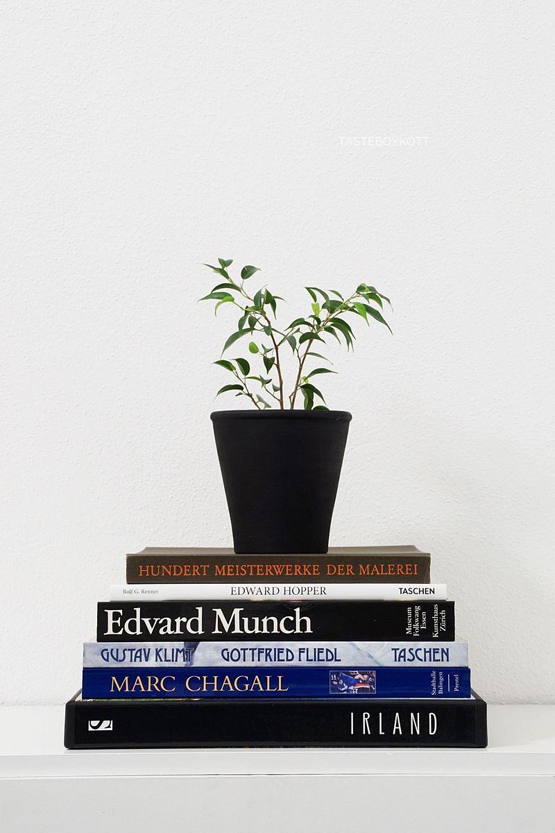 Kunstbücher/ Dekorative Bildbände über Maler, Kunst Und Reisen Mit Ficus