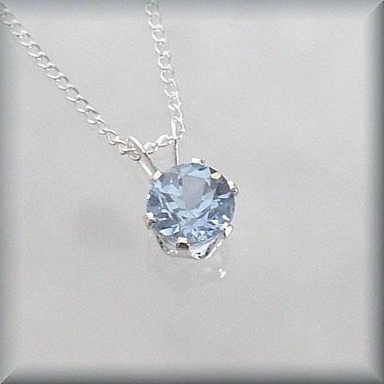Aquamarine aquamarine pinterest march birthstone necklace aquamarine mozeypictures Choice Image