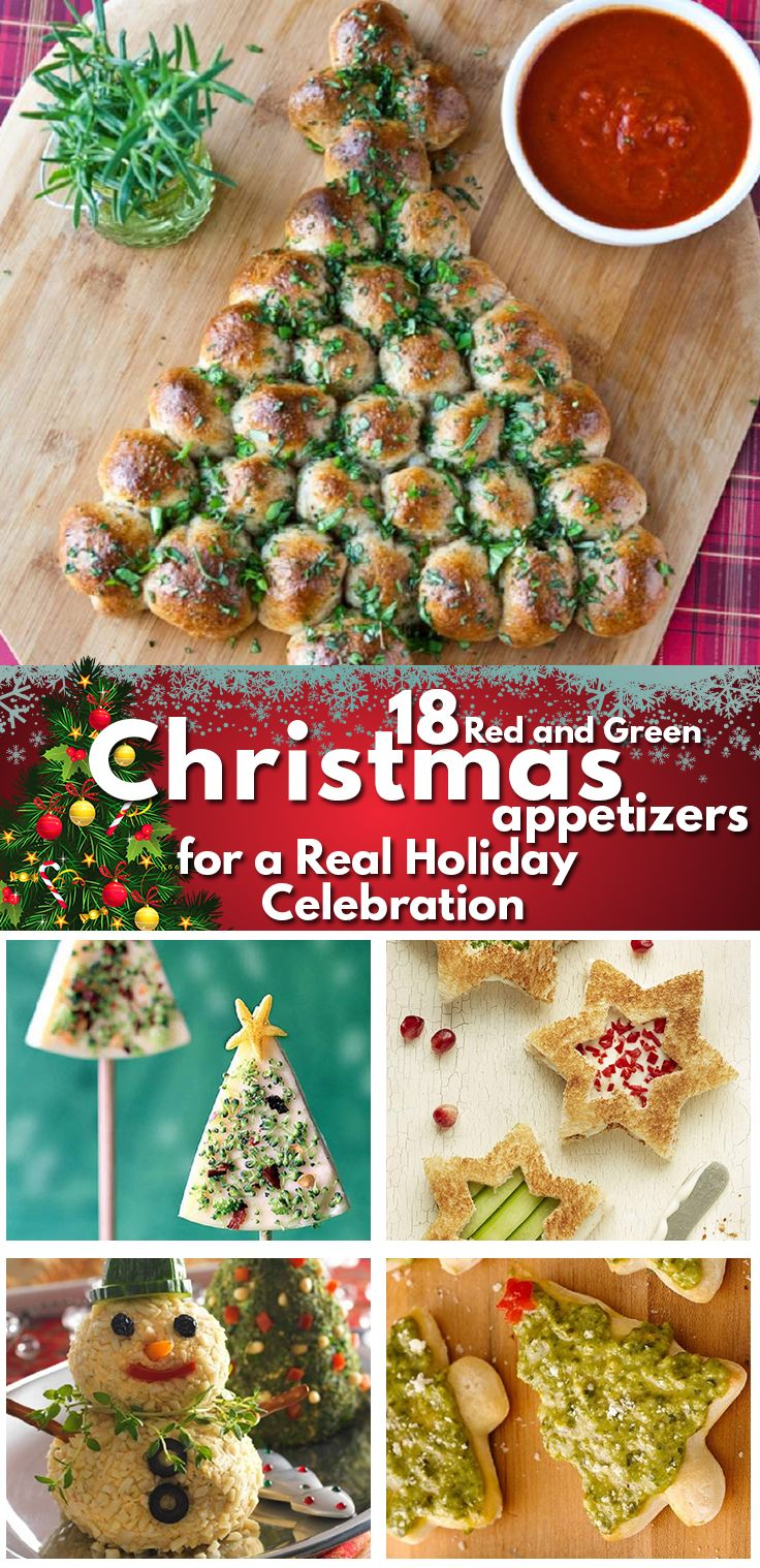 18 Red And Green Christmas Appetizers For A Real Holiday Celebration Christmas Appetizers Christmas Appetizers Easy Christmas Appetizers Party