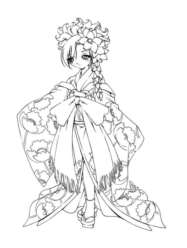 Pin by marjolaine grange on coloriage chibi | Pinterest