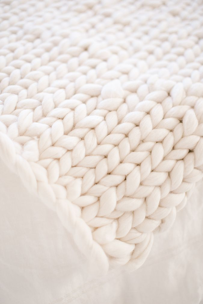 DIY Gift Guide Hand Knitted Throw Blanket Craft Pinterest Impressive How To Make A Throw Blanket By Hand