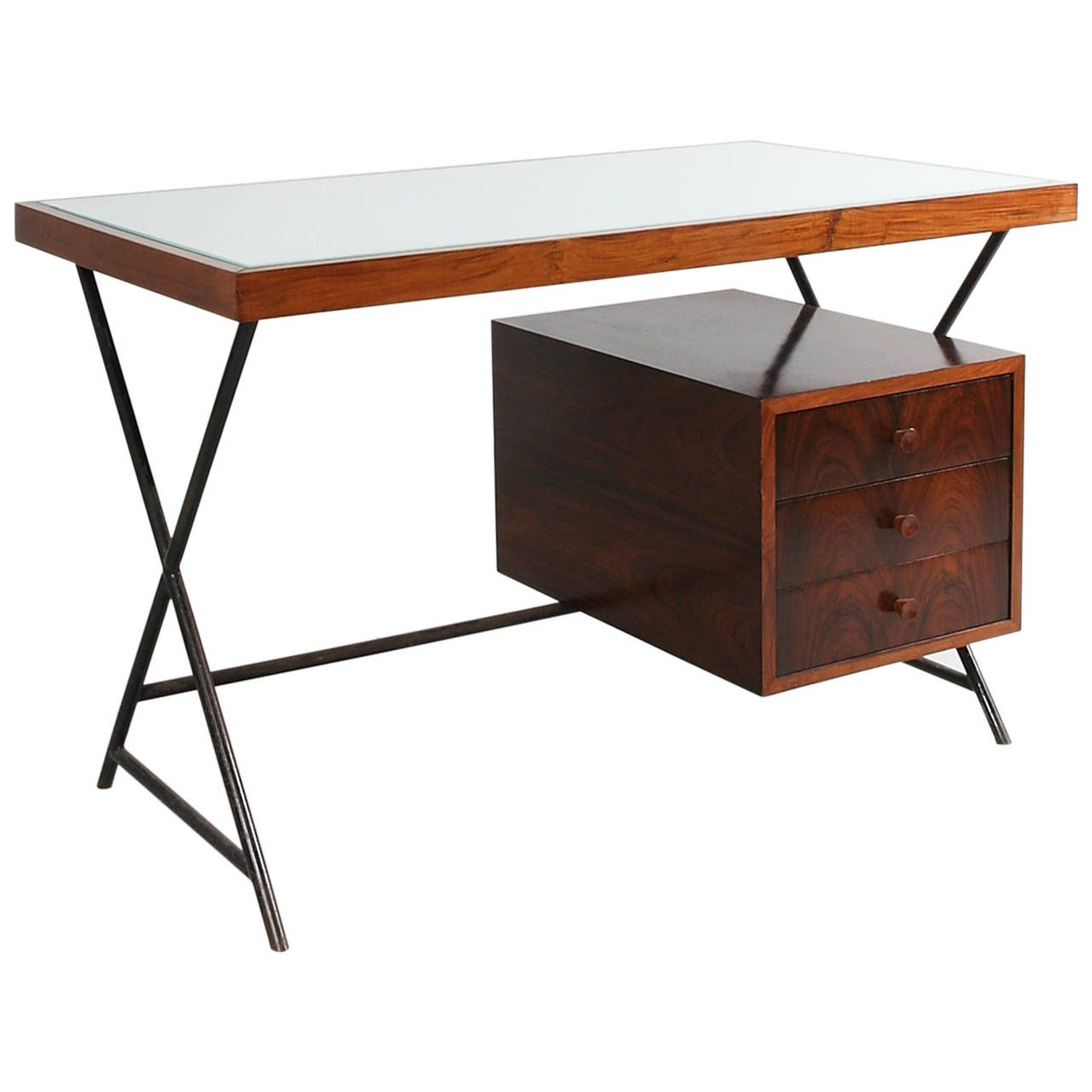 Rare Desk By Lina Bo Bardi C 1949 Writing Table Desks And Tables # Muebles Bustper