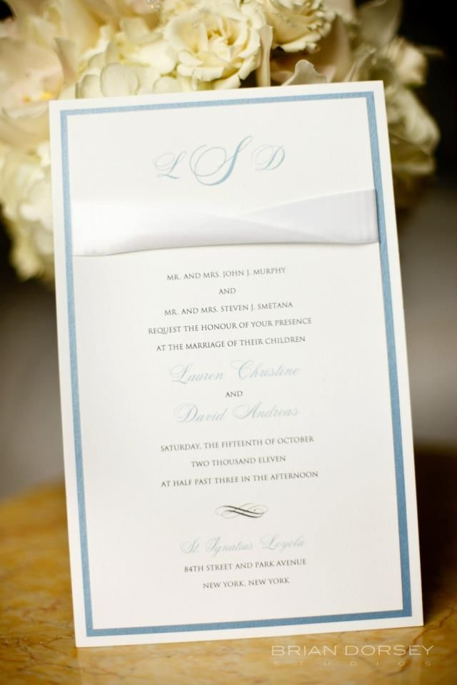 Our gorgeous invitation! #liweddingplanners #invitation #flowers #calligraphy #NYC #newyorkcity #bride #wedding