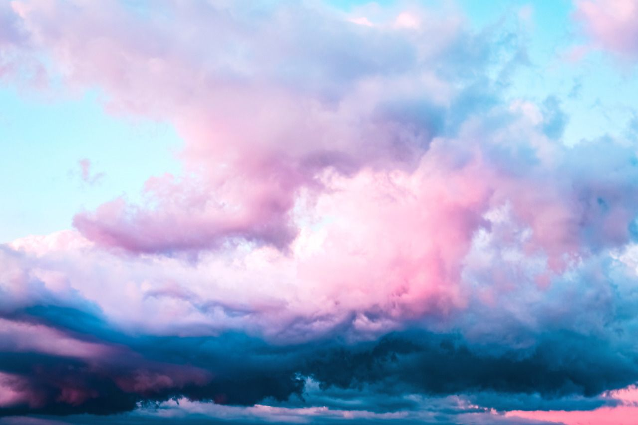 Https Leahberman Tumblr Com Post 183554370986 Cloud Spell Cotton Candy Aesthetic Cotton Candy Sky Blue Clouds Aesthetic