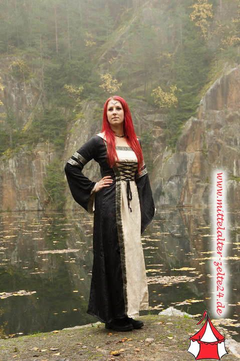 Kleid Mona | Mittelalter kleidung, Mittelalter gewandung ...
