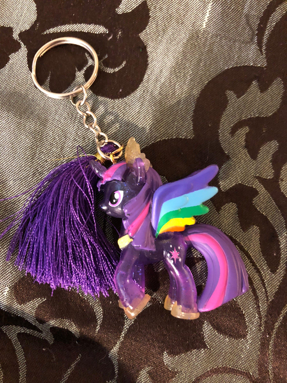 Twilight sparkle mlp resin keychain