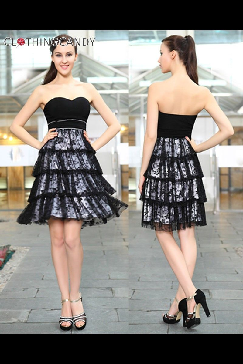 Cupcake Little Black Prom Dress Shop online for maxi gowns, cocktail ...