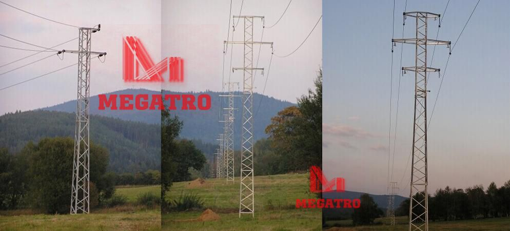 MEGATRO can design and fabricates this type 24KV lattice