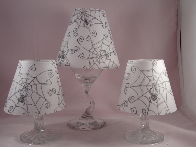 Spooky halloween lamp shade halloween pinterest spooky spooky halloween lamp shade aloadofball Images
