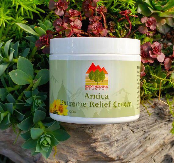 ARNICA & MSM Natural Pain Relief Cream, Vegan, Arthritis