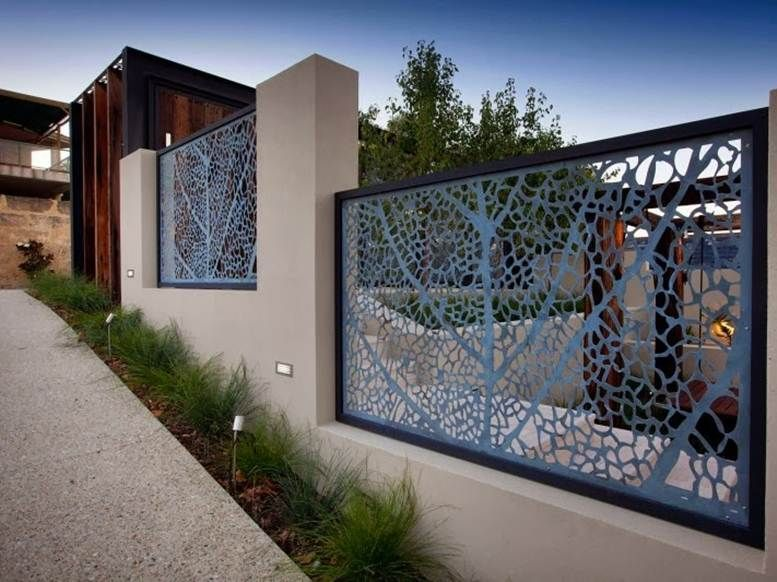 Decorative Fence For Modern Home Design 7 Home Ideas