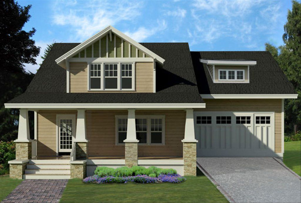 Craftsman Style House Plan 4 Beds 3 5 Baths 2265 Sq Ft Plan 461 39 Craftsman House Plans Craftsman Style House Plans Craftsman House