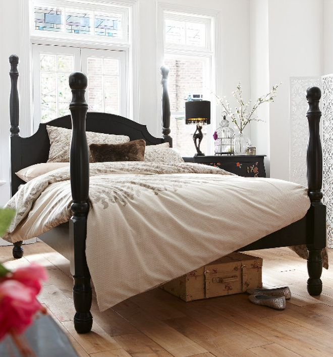 Fearne Cotton Marne 4 Poster Bed Frame King Pinterest Frames And White Headboard