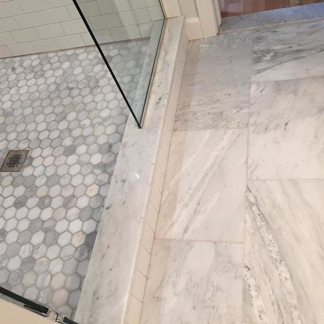 Hampton Carrara Hex Marble Mosaic Tile 2 X 2 In The Tile Shop