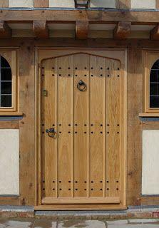 Oak front door for similar door studs and door knocker click below / & Oak front door for similar door studs and door knocker click below ...