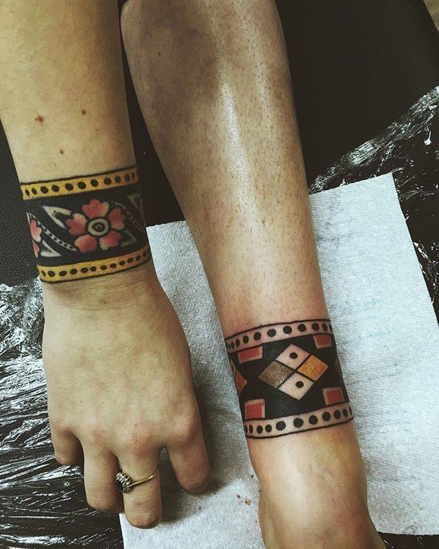 Healed Wrist New Ankle Ankle Band Tattoo Cuff Tattoo Inspirational Tattoos