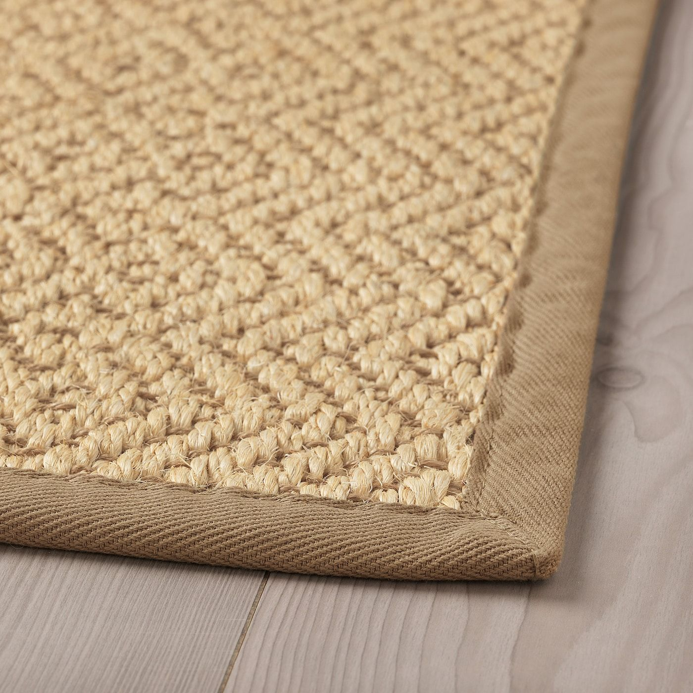Vistoft Rug Flatwoven Natural Ca Ikea In 2020 Flatwoven Rugs Layered Rugs
