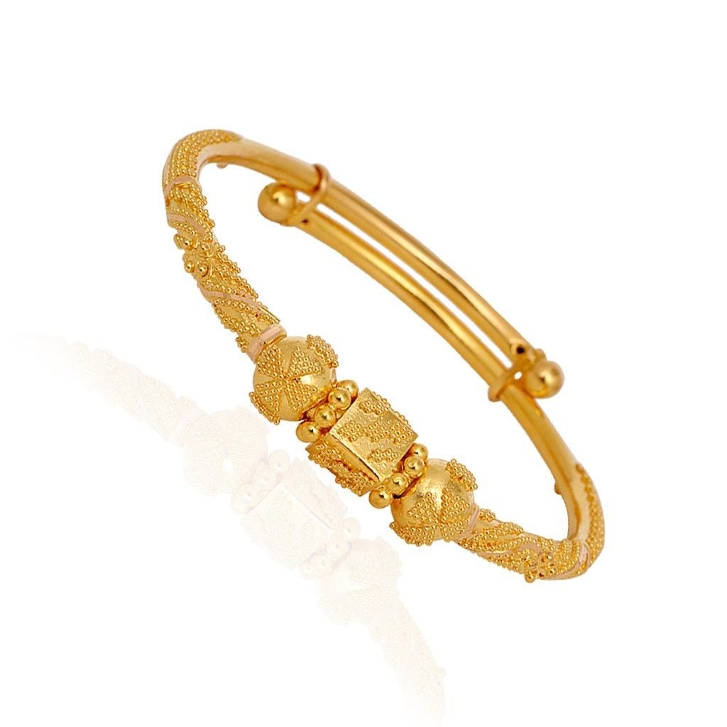 bracelet gold bangles dp girls com amazon for baby bangle jewelry infant