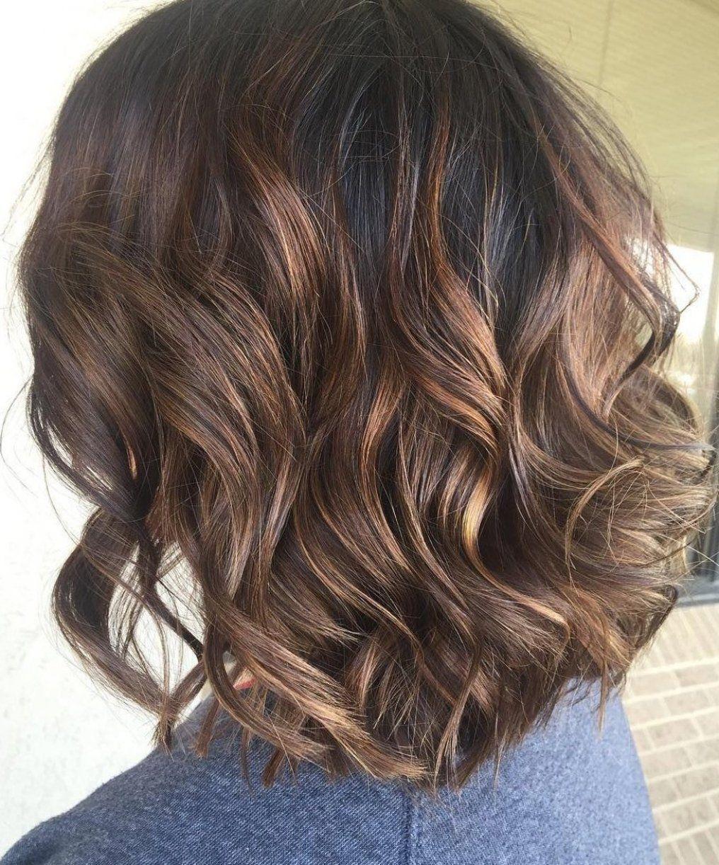 Balayagehair Hairmakeup Stepbystep In 2020 Short Caramel Hair Short Dark Hair Dark Hair