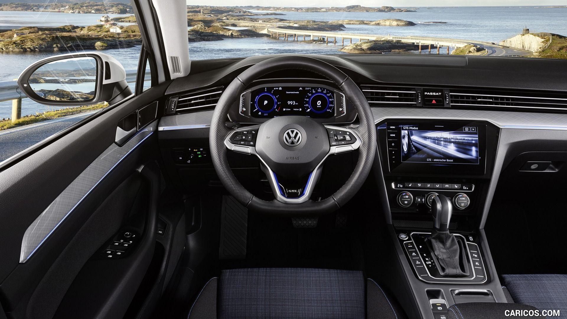 2020 Volkswagen Passat Gte Eu Spec Vw Passat Volkswagen Interior Volkswagen