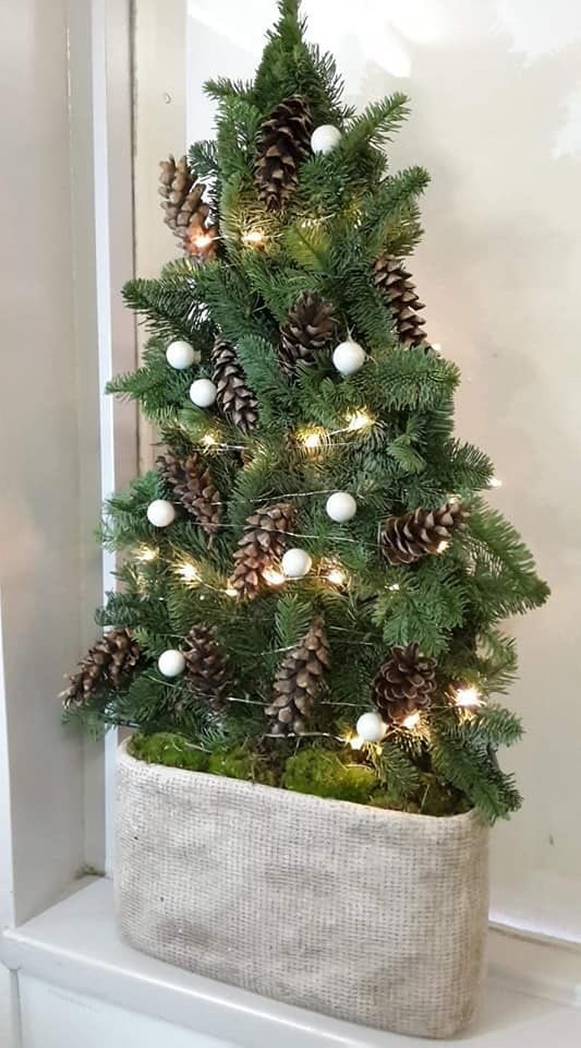 naturdeko #rusticchristmas