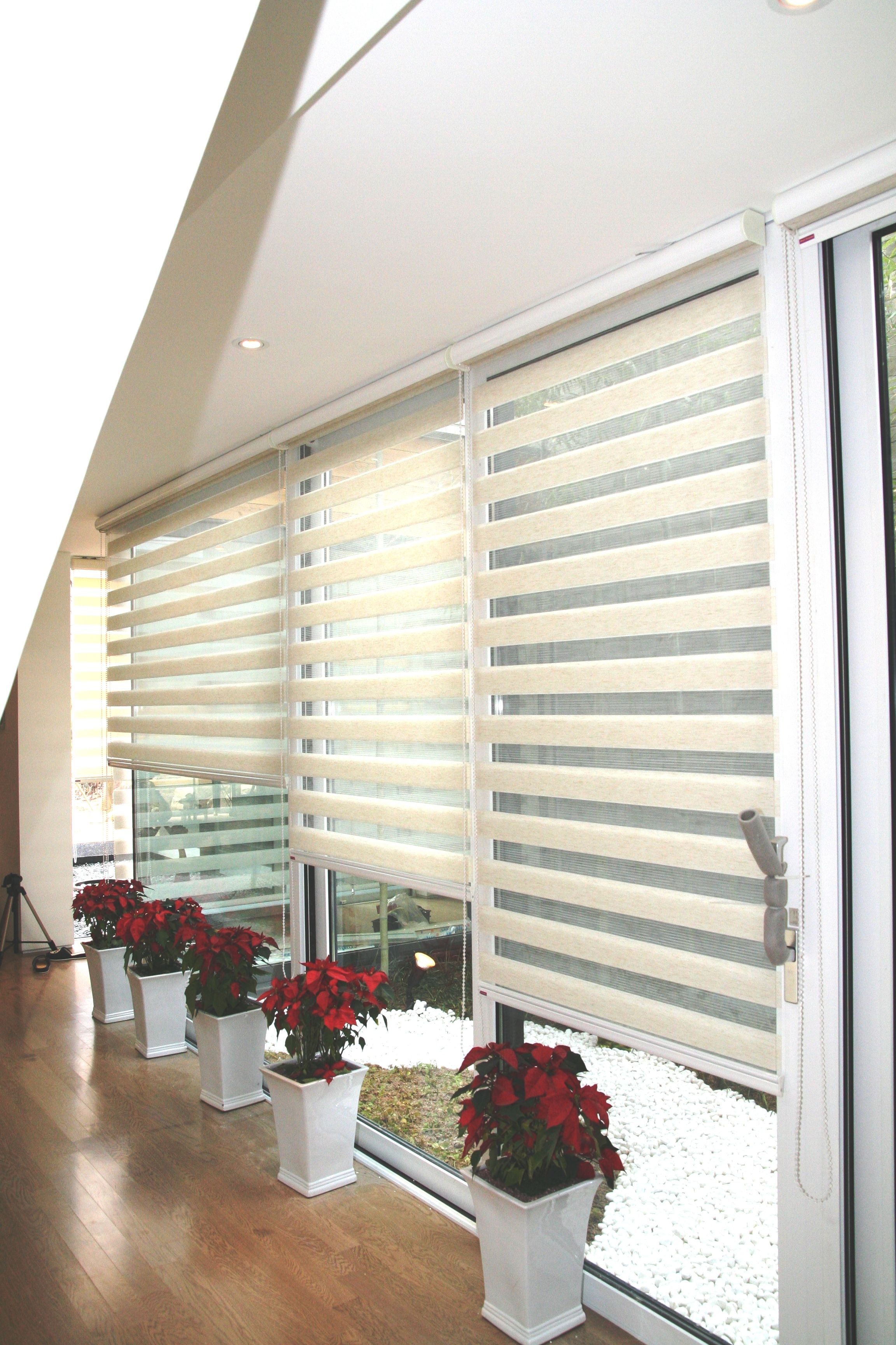 sheer elegance binds control the amount of sun with solid and sheer ...
