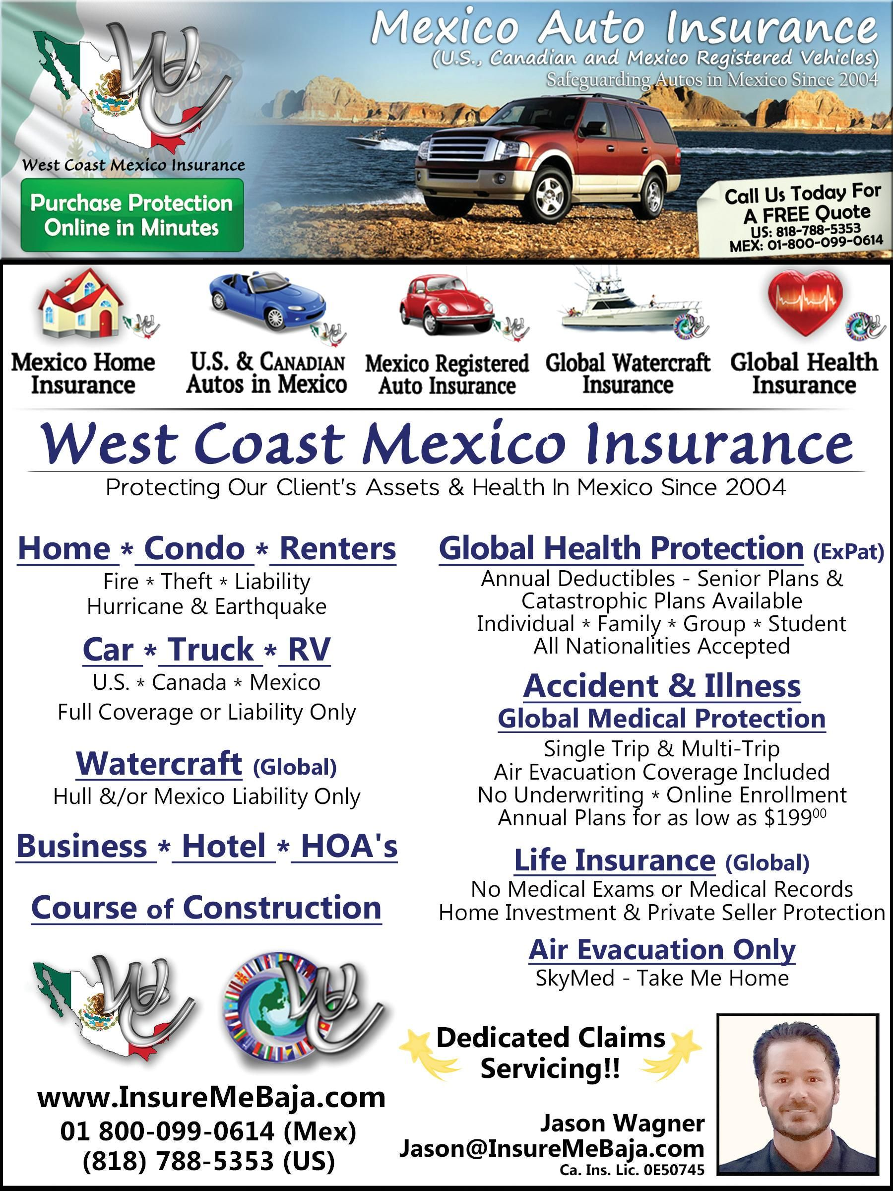 Mexico Auto Insurance Free Quotes In Minutes Get A Free Quote At