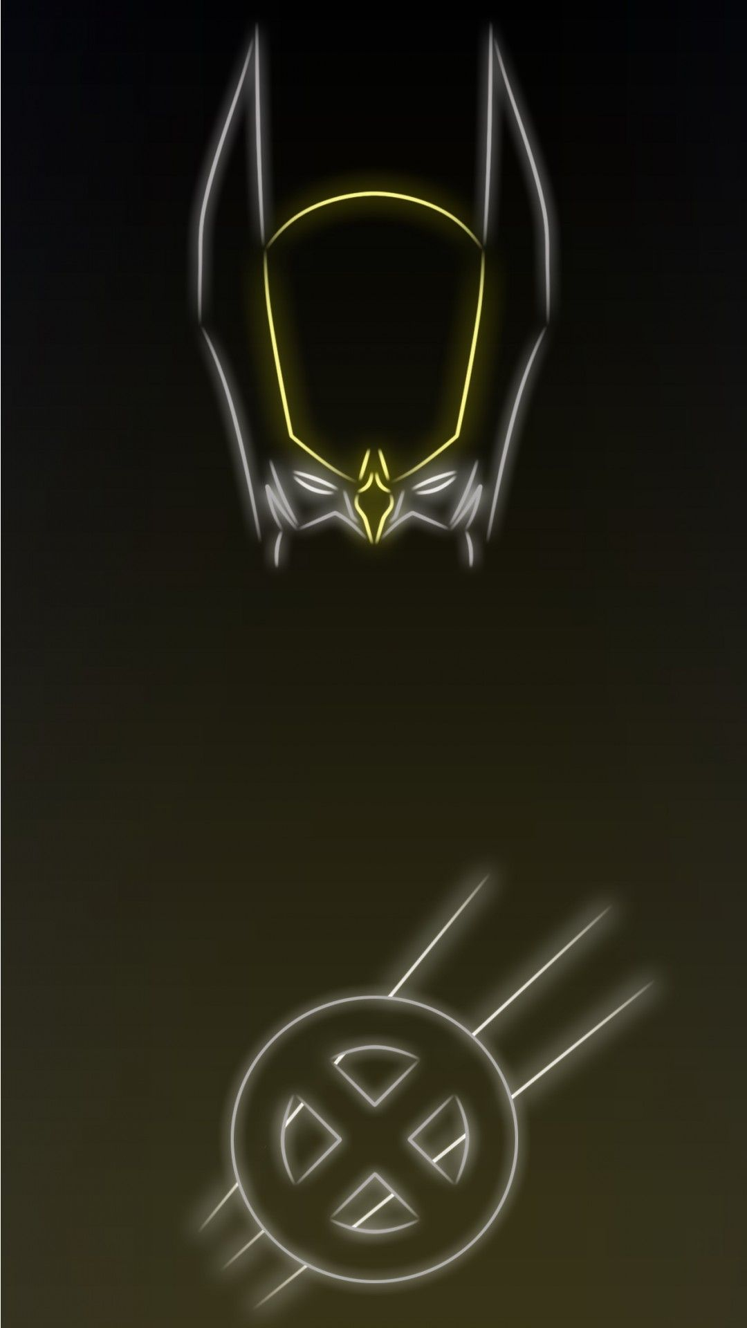 Neon Light Hero Wolverine 1080 X 1920 Wallpapers Co San De Tai Mien Phi