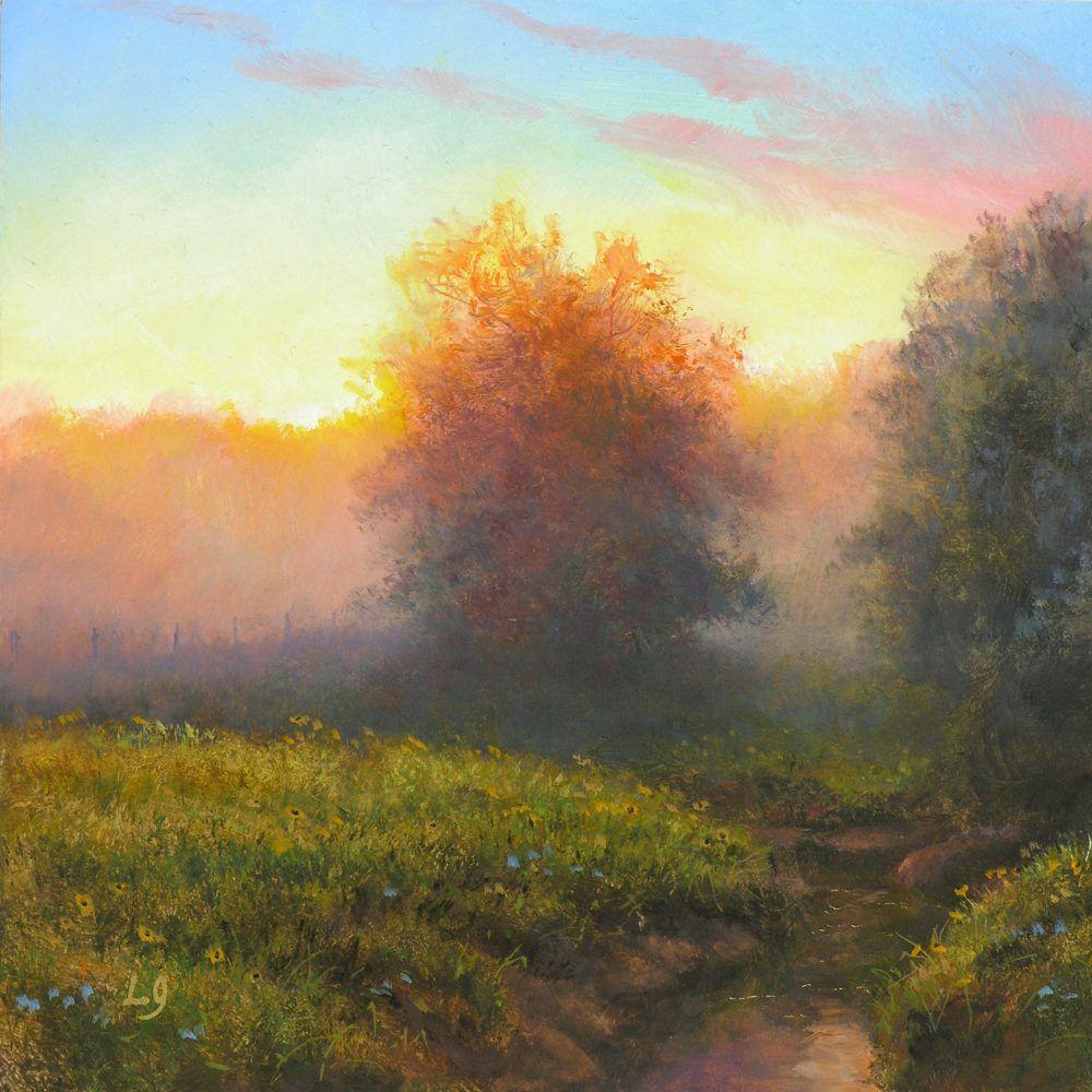 Pastoral Mist By Layne Johnson Dutch Art Gallery Landscape Paintings Art Painting