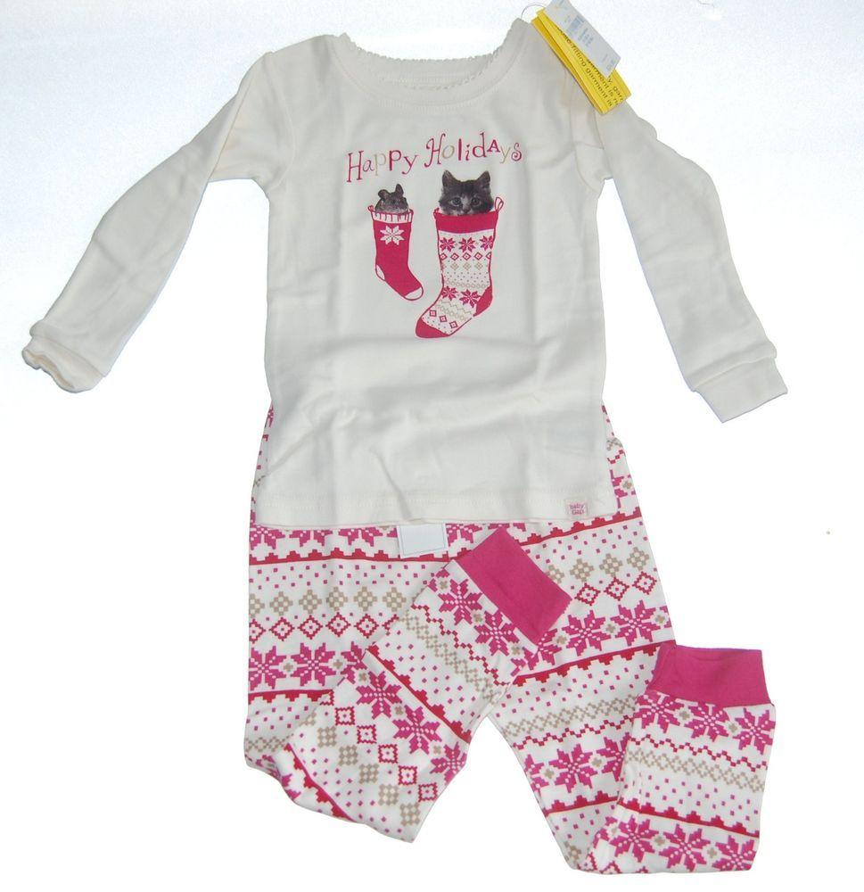 Baby Gap Boys Green Train Long Pajamas 6-12 mos NWT NEW NIP