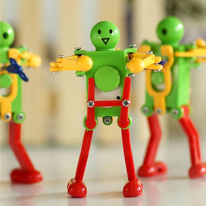 Click to Buy << New Dancing twisted ass Toys Clockwork robot dancing robot