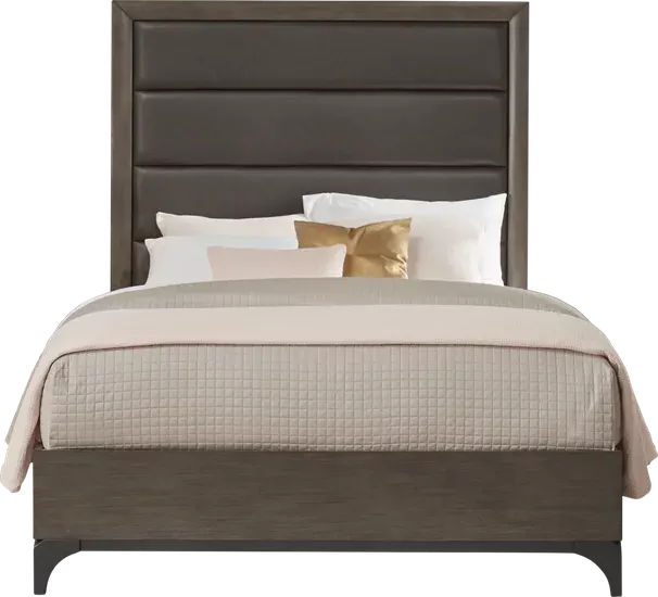East Tower Gray 3 Pc Queen Panel Bed Rooms To Go In 2020 Queen Panel Beds Panel Bed Bed