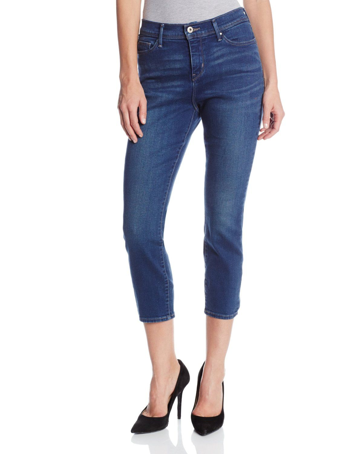2eacb3b20119e Levi's Women's 512 Perfectly Slimming Skinny Crop Jean ($34.91) - http://