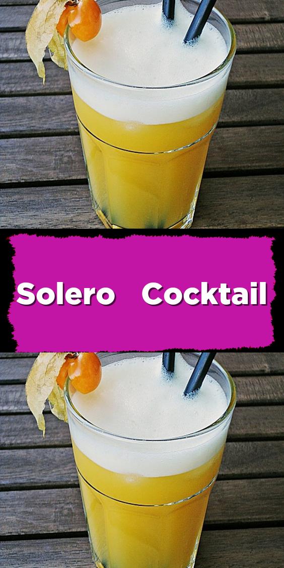 Photo of Solero cocktail