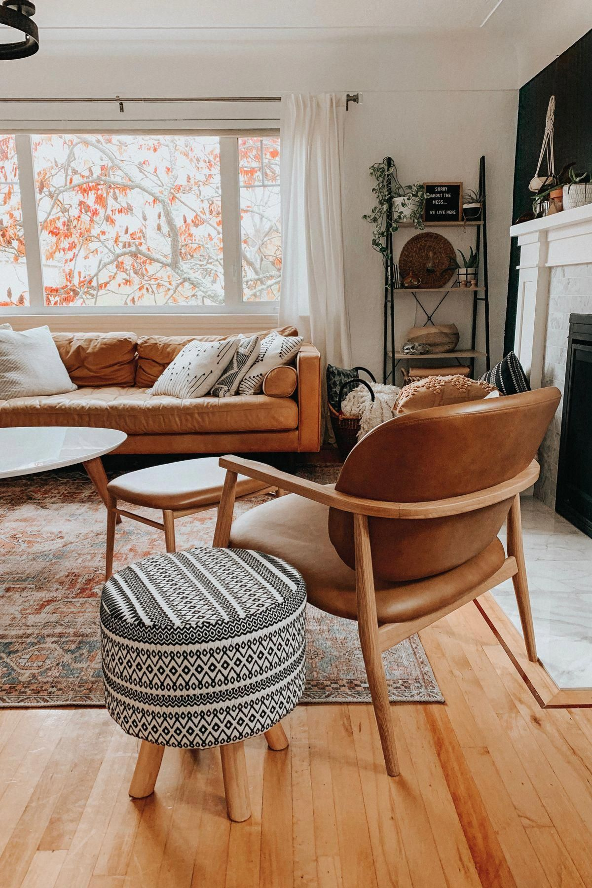 Photo of Levo Toscana Tan Oak Lounge Set