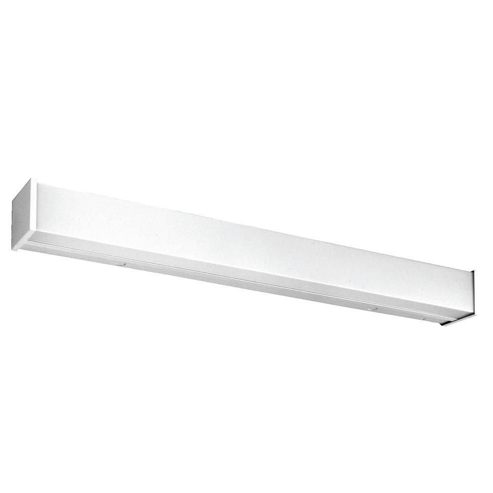 Lithonia Lighting 4 Ft 2 Light Wall Or Ceiling Mount Fluorescent