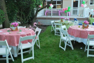 Explore Outdoor Baby Showers, Green Baby Showers, And More!
