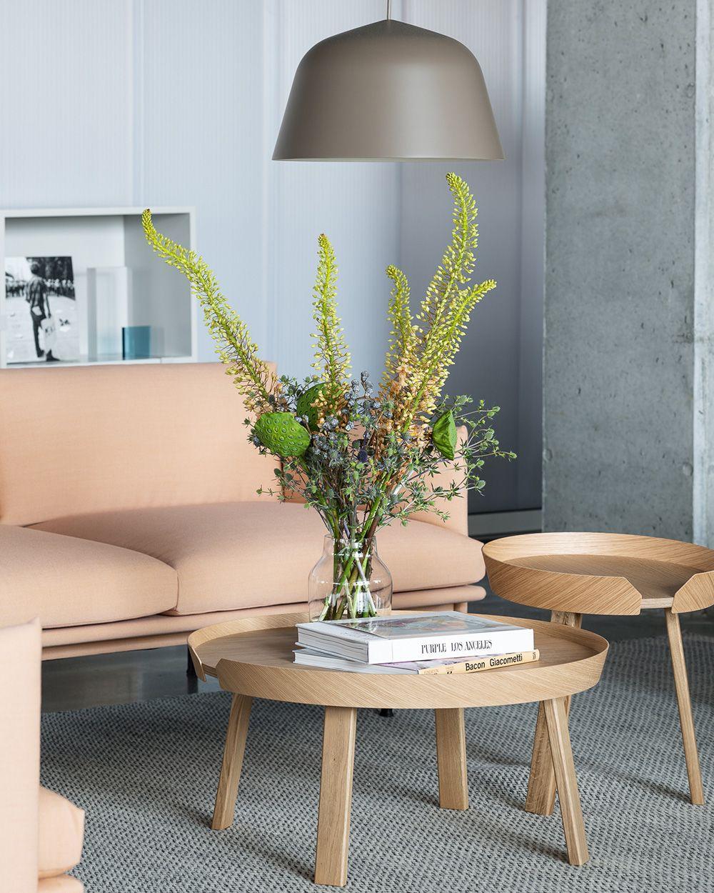 Timeless And Modern Wooden Sofa Table Home Decor Inspiratioon From Muuto Scandinavian Design Coffee Table Coffee Table Furniture Design Unique Furniture Design [ 1250 x 1000 Pixel ]