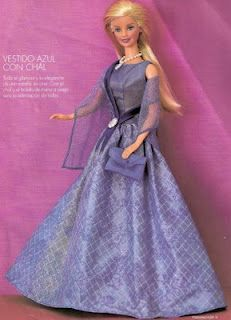 several free patterns for barbie doll clothes (sew & a few crochet)