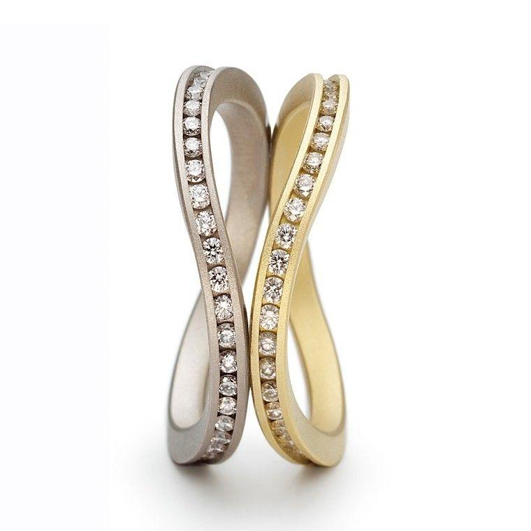 6d047b4ed ORRO.co.uk - Niessing - Flurry Eternity Rings - ORRO Contemporary Jewellery  Glasgow.