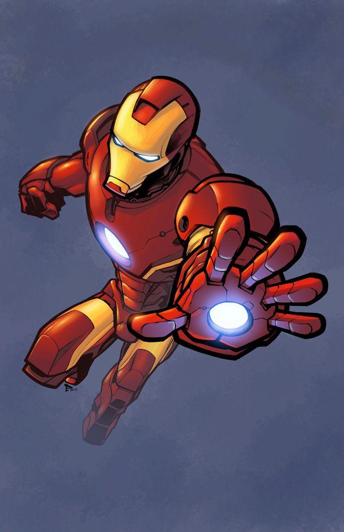 Iron Man Color Logicfun Color Iron Man Comic Art Iron Man Cartoon Iron Man