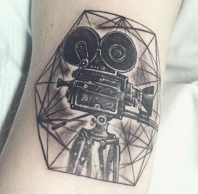 Nikkietutorials Tattoos >> Nikkie Tutorials Nikkie Tutorial Camera Film Tattoo Tattoos