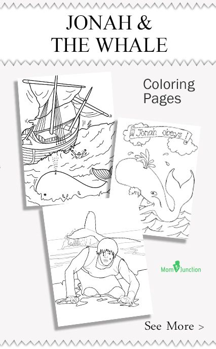 10 Best Free Printable Jonah And The Whale Coloring Pages | Free ...