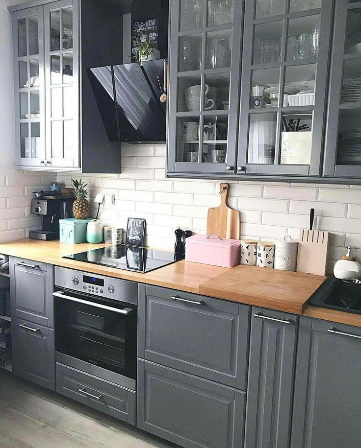 25+ Grey Kitchen Ideas (Modern Accent Grey Kitchen Design)