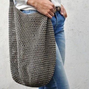 Crochet gratuit Trendy Shopper   – stricken