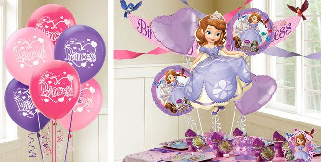 Sofia the First Balloons - Party City