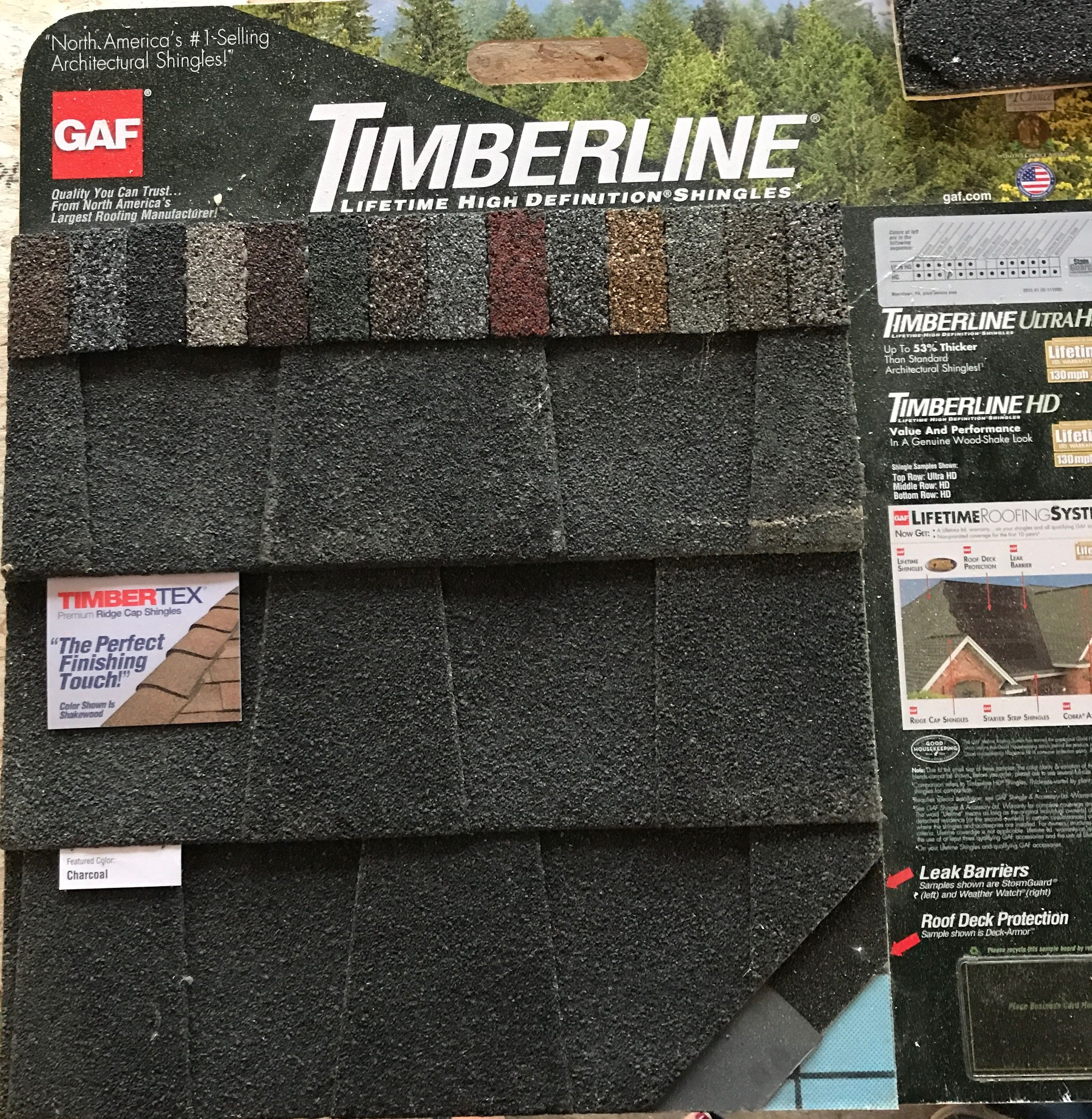 Best Gaf Timberline Charcoal Architectural Shingle 400 x 300
