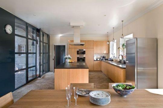 cuisine ouverte sur la salle manger 50 id es gagnantes. Black Bedroom Furniture Sets. Home Design Ideas