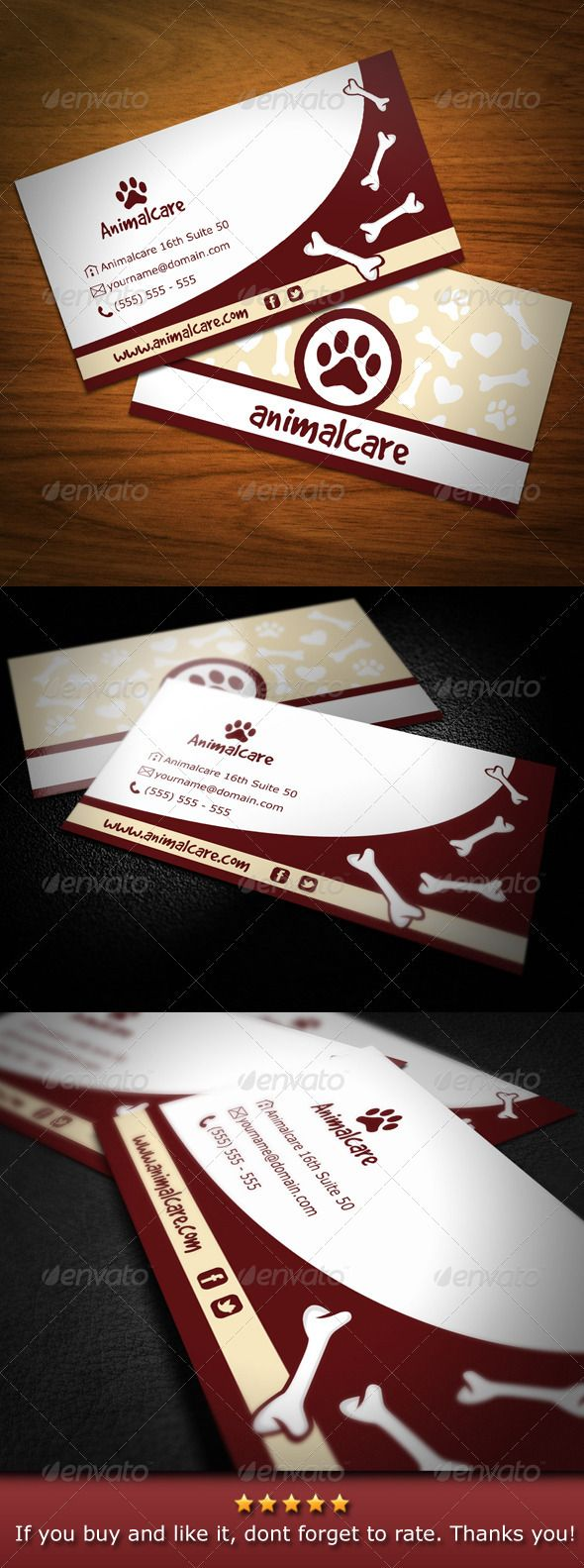 Animal Care Business Card   Animal care, Business cards and Business