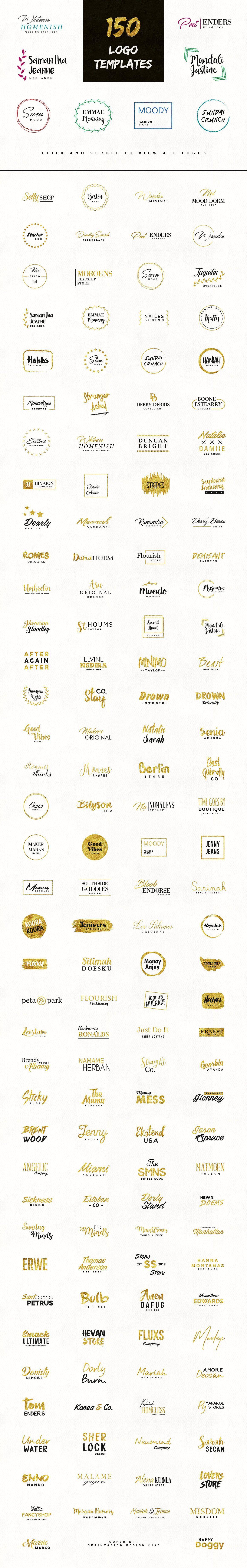 fancy logos branding logo pack m246nster design och